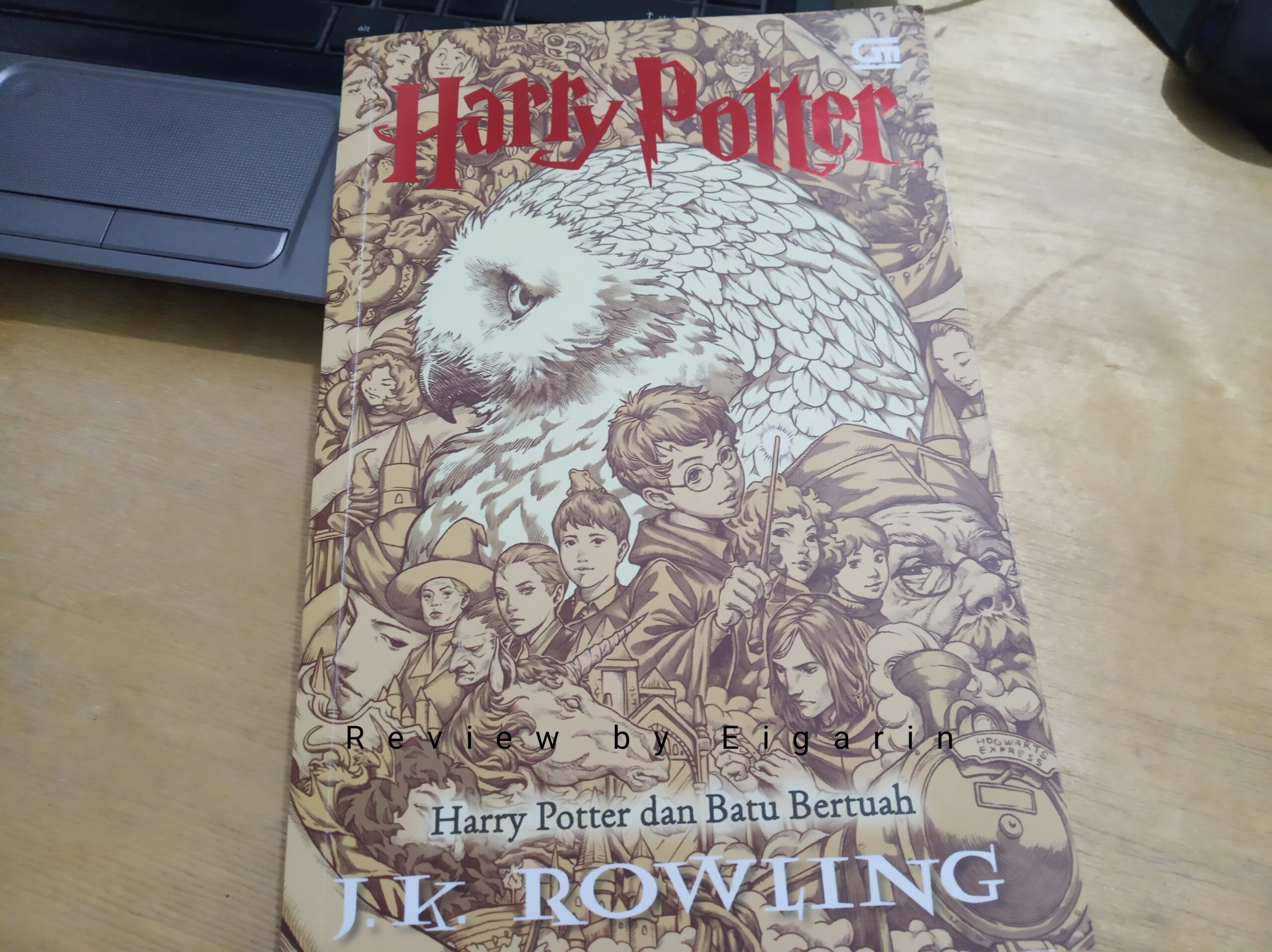 Book Review : Harry Potter dan Batu Bertuah